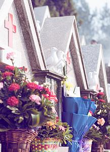 教堂圣山墓地图片