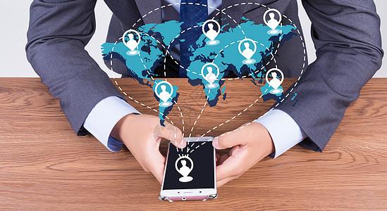 科技手机图标图片