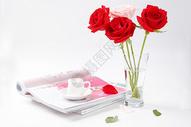 玫瑰花场景图片图片