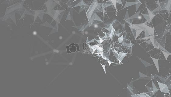 灰色创意科技背景图片