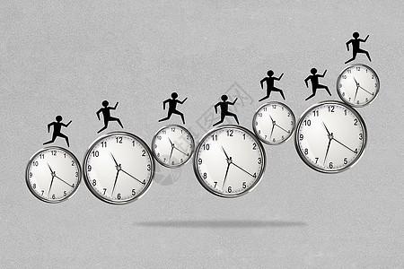 赶时间的人图片
