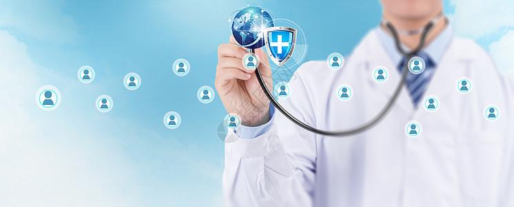 听诊器创意科技用户图标图片