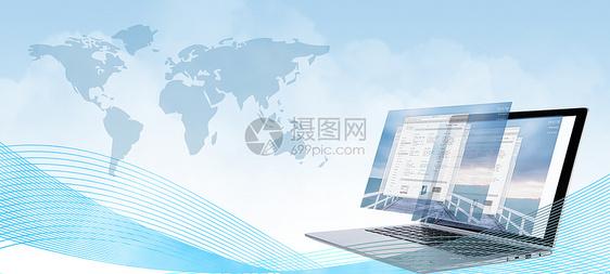 电脑科技背景图片