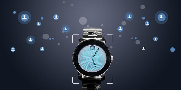 智能手表智联世界图片
