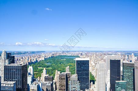 纽约中央公园俯瞰图片
