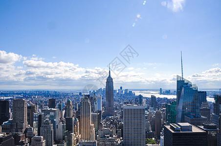纽约曼哈顿城市天际线图片