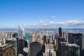 纽约曼哈顿建筑群图片