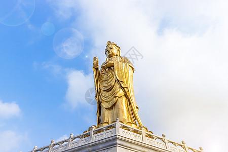 观音菩萨雕像图片