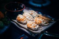 日式煎饺图片
