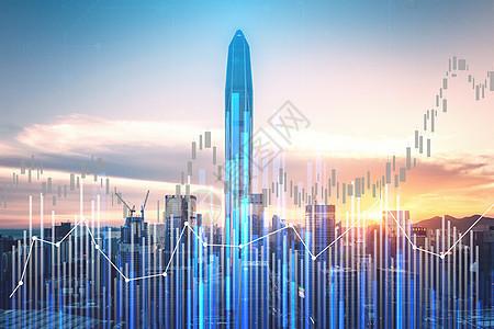 数据城市背景图片