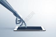 人工智能科技手臂图片