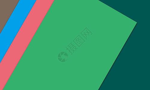 彩色的办公文具卡纸图片
