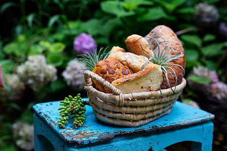 美味可口的面包图片