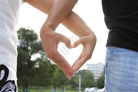 情侣心形图片