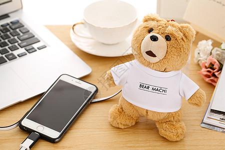 玩具熊充电器图片