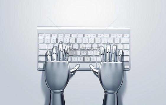 科技机械手图片