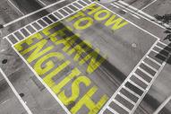 如何学习英语马路字体图片