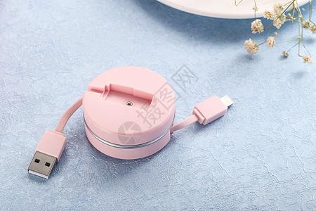 USB连接线图片