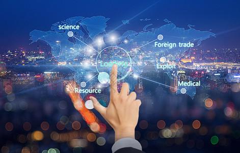 全球合作图片