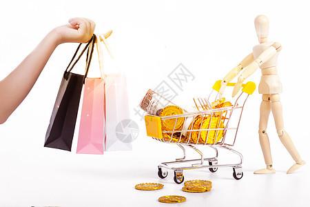 购物消费图片