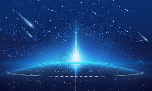 科技感宇宙星空图片