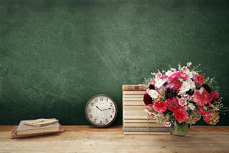 学校课堂教学背景图片