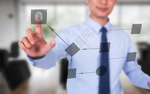 触碰未来科技感图图片
