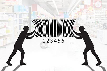 无人扫码支付超市图片