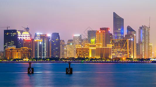 杭州城市夜景图片