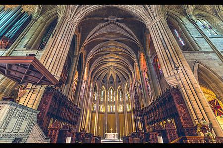 梦幻的悉尼圣玛丽大教堂图片