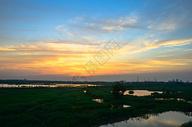美丽的落日风景图片