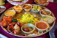 印度咖喱饭图片