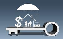 3D-金融业双重保险图片