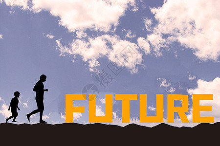 打着手电筒寻找未来图片