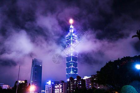 台湾夜景图片