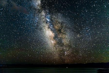 夏季银河图片