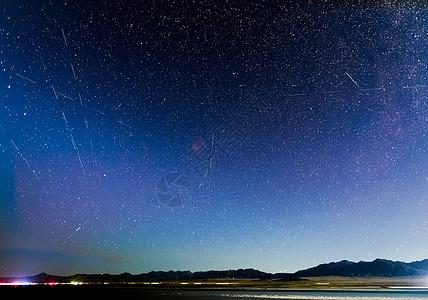 英仙座流星雨图片