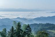 湖南紫鹊界云海图片