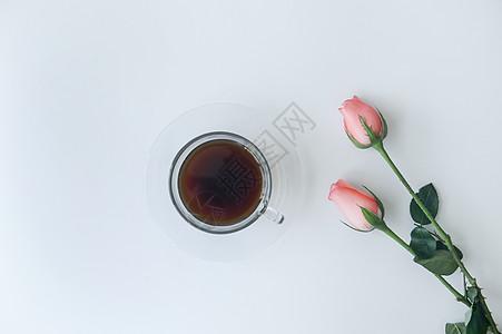 七夕玫瑰下午茶图片