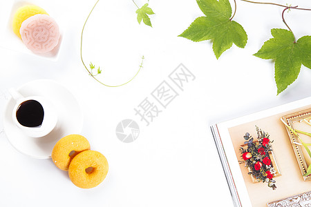 冰皮月饼下午茶图片