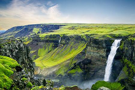 庐山瀑布图片