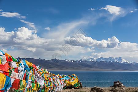 青藏高原纳木措圣湖图片