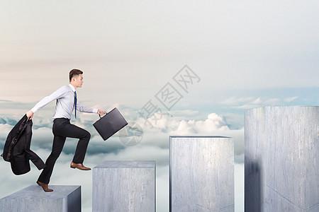 晋升的阶梯图片