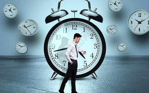 看手表商务男士背景图图片