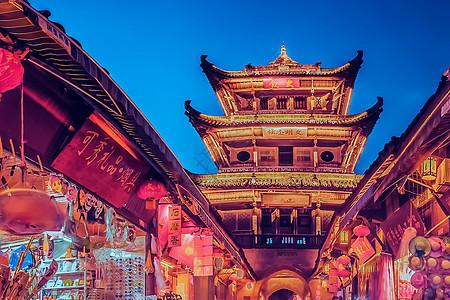 阆中古城旅行美景图片