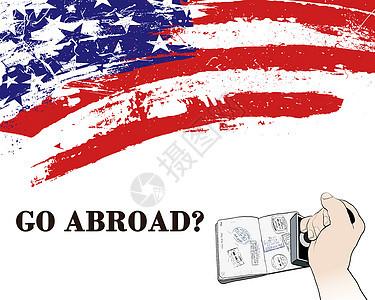 出国留学主题图片