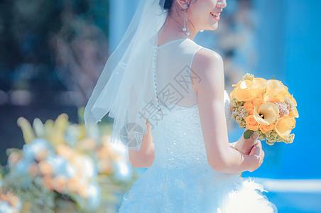 七夕婚礼图片
