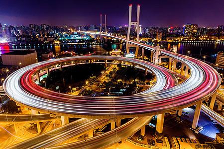 上海南浦大桥夜景图片