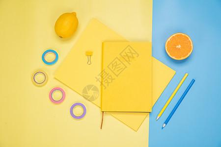 创意水果办公桌面图片