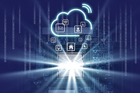 智能芯片云图片